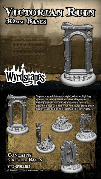 Wyrdscapes: Victorian Ruin 30MM