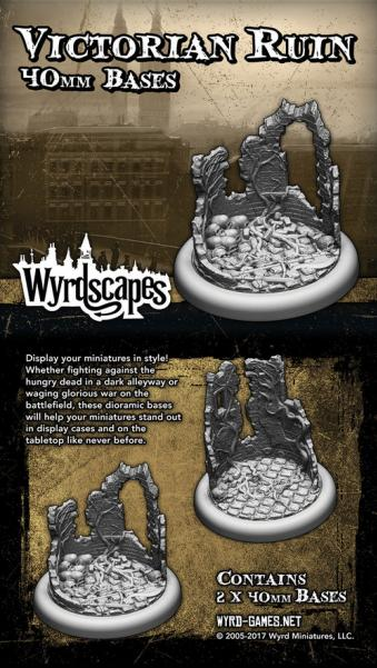 Wyrdscapes: Victorian Ruin 40MM