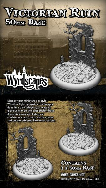 Wyrdscapes: Victorian Ruin 50MM