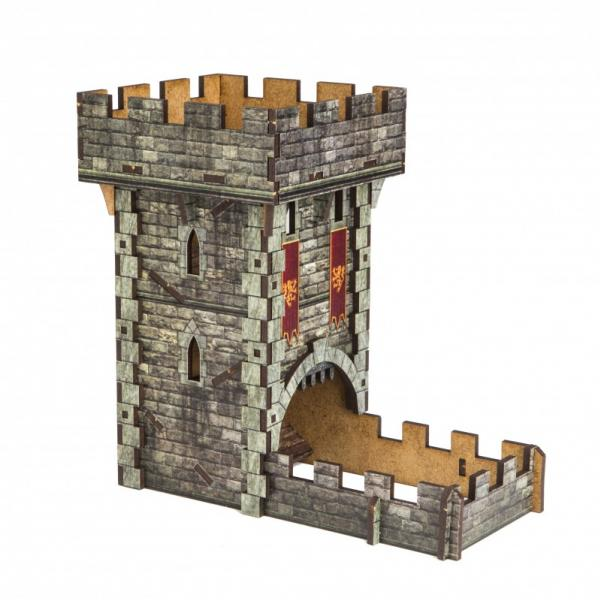 Dice Towers: Color Castle Dice Tower