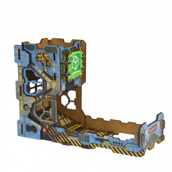 Dice Towers: Color Tech Dice Tower