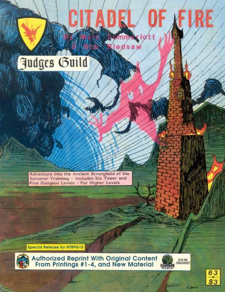 Judges Guild Classic Reprint: Citadel of Fire (1E Adventure)