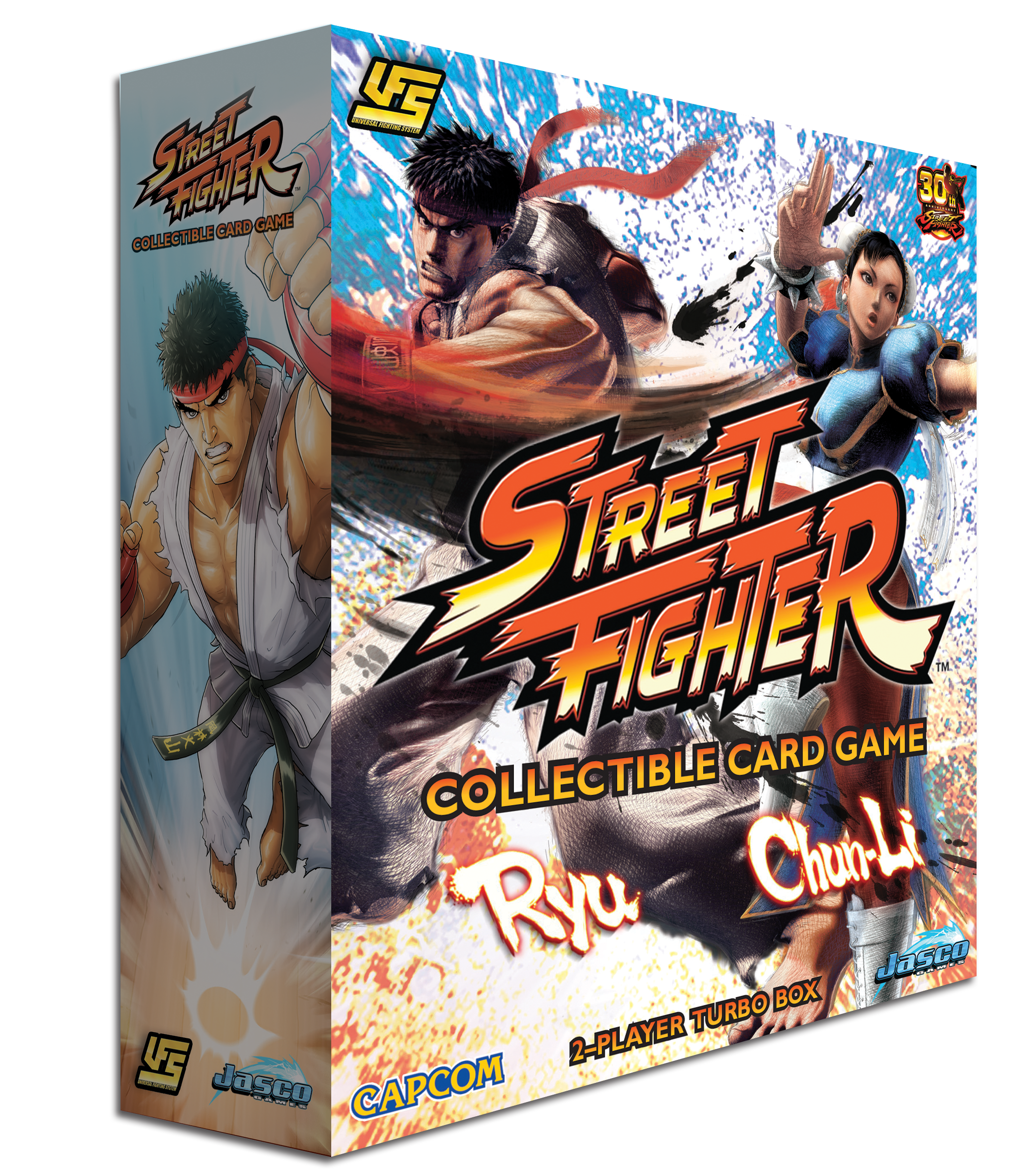 UFS CCG: Street Fighter CCG - Chun Li vs. Ryu 2-player Starter Pack