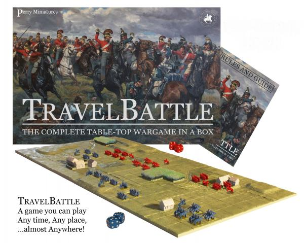 TravelBattle: The Complete Table-Top Wargame in a Box
