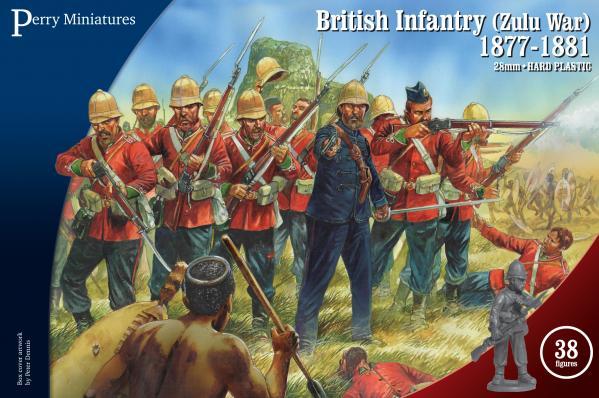 28mm Historical: Zulu War British Infantry 1877-81