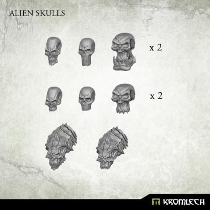 Kromlech Conversion Bitz: Alien Skulls (14)