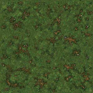 RuneWars: Grassy Field Playmat