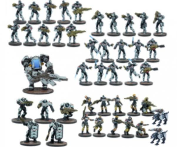 Deadzone, 2nd Edition: (Enforcers) Starter Force