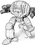 BattleTech Miniatures: Avalanche AVL-10 PrimeMech - 50 Tons - TRO 3145 Draconis Combine