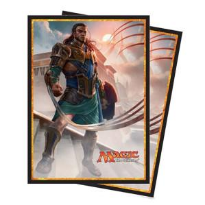 Magic The Gathering CCG: Amonkhet v1 Deck Protectors Gideon (80 Sleeves)