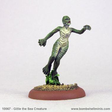 Bombshell Miniatures: Gillie