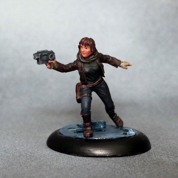 Bombshell Miniatures: Jenn Hadley
