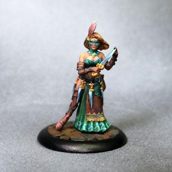 Bombshell Miniatures: Elizabeth Beckford - Assassin With Daggers
