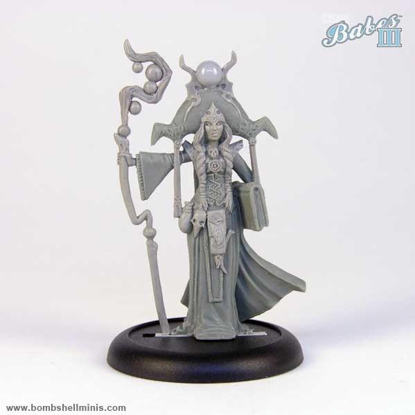 Bombshell Miniatures: Anugrah the Oracle
