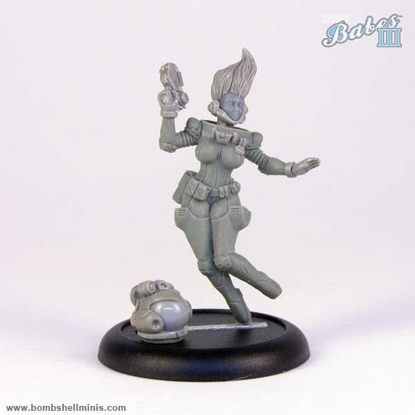 Bombshell Miniatures: Ellie