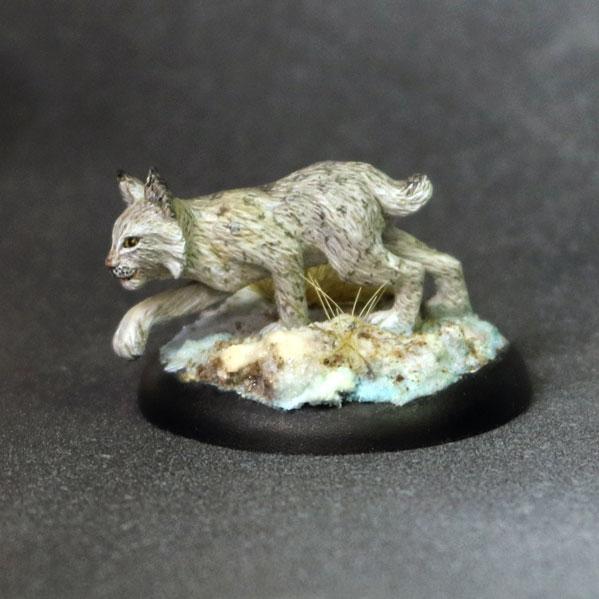 Bombshell Miniatures: Sidekicks - Jodee, Lynx