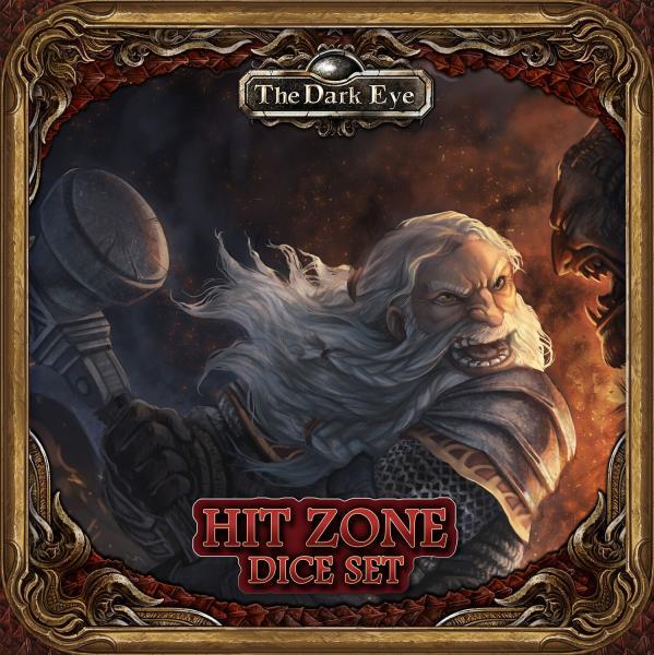 The Dark Eye RPG: Hit Zone Dice Set