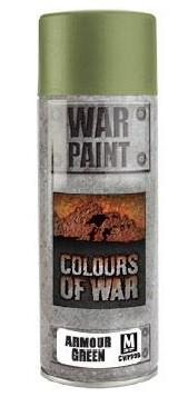 Colours Of War: ARMOUR GREEN SPRAY