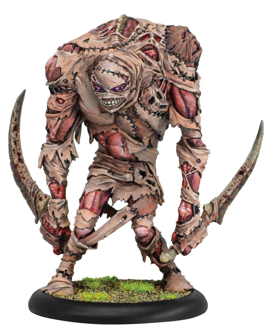 Hordes: (Grymkin) Skin & Moans - Grymkin Heavy Warbeast (plastic)