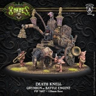 Hordes: (Grymkin) Death Knell - Grymkin Battle Engine (resin/metal)