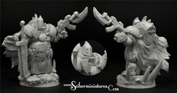 28mm Sci-Fi Miniatures: Rotten Lord #4