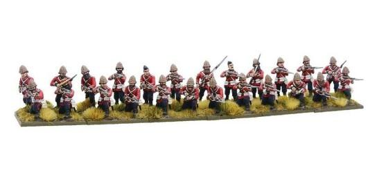 Black Powder (Anglo Zulu War): British Line Infantry Regiment