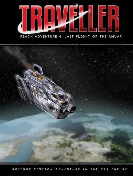 Traveller RPG: Last Flight of the Amuar