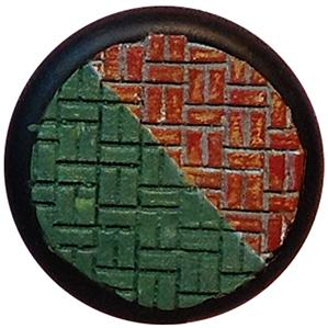 Textured Stamps: HALFBASKET BRICK (3x3)