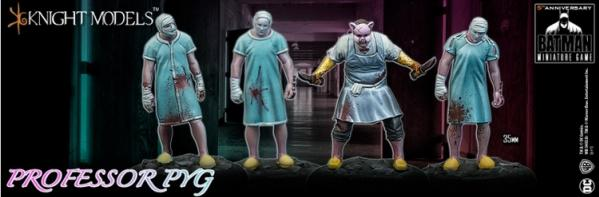 Batman Miniature Game: PROFESSOR PYG & DOLLOTRONS