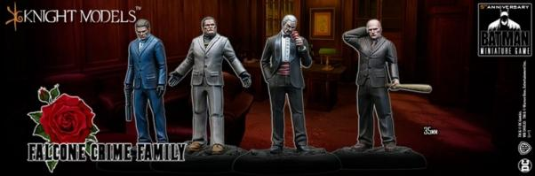 Batman Miniature Game: FALCONE CRIME FAMILY