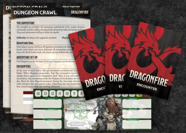 D&D: Dragonfire DBG