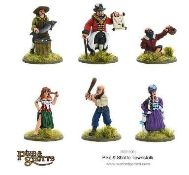 Pike & Shotte: Townsfolk
