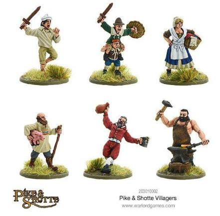 Pike & Shotte: Villagers