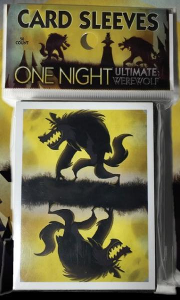 One Night Ultimate Werewolf: Card Sleeves