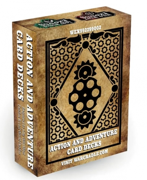 Wild West Exodus: Action & Adventure Decks