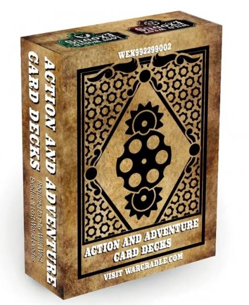 Wild West Exodus: Action & Adventure Decks