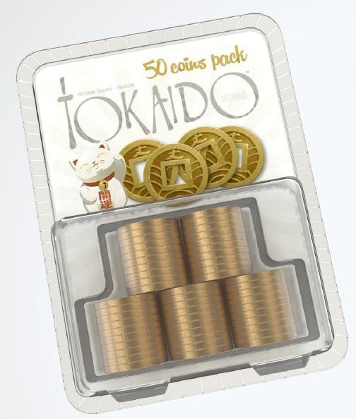 Tokaido: Tokaido Metal Coins