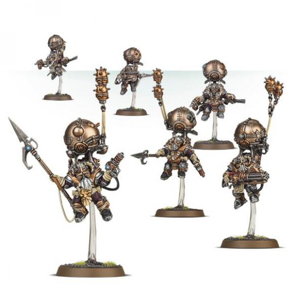 Age of Sigmar: KHARADRON OVERLORDS SKYRIGGERS