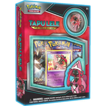 Pokemon CCG: Tapu Lele Pin Collection