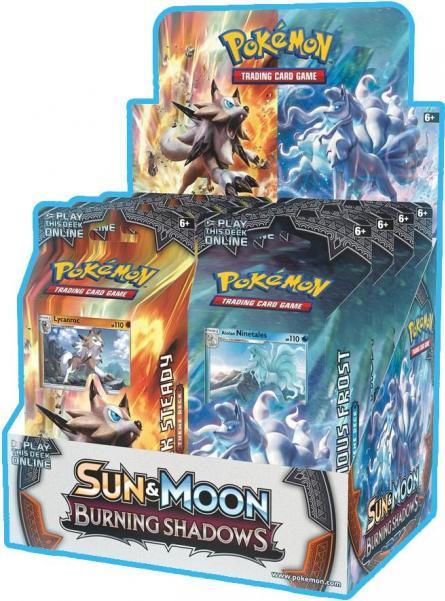 Pokemon CCG: Sun and Moon Burning Shadows Theme Deck (1)