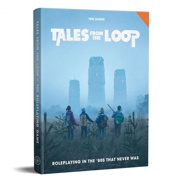 Tales from the Loop RPG (80s Era RPG) (HC)