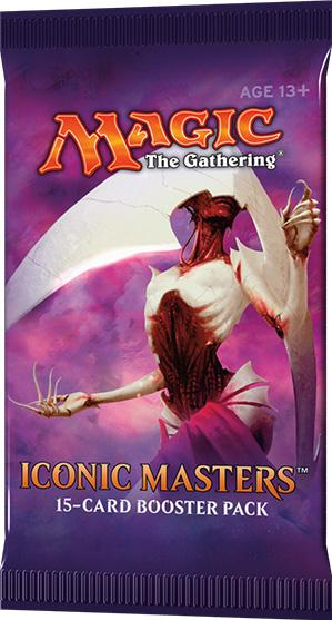 Magic the Gathering: Iconic Masters Booster Pack (1)