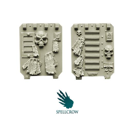 28mm Sci-Fi: (Space Knights) Space Knights Doors for Light Vehicles