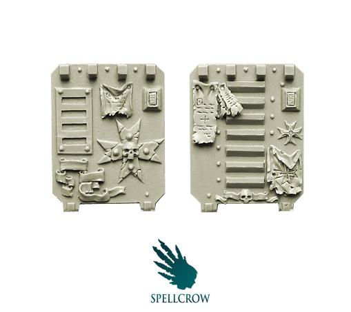 28mm Sci-Fi: (Space Knights) Templars Space Knights Door for Light Vehicles