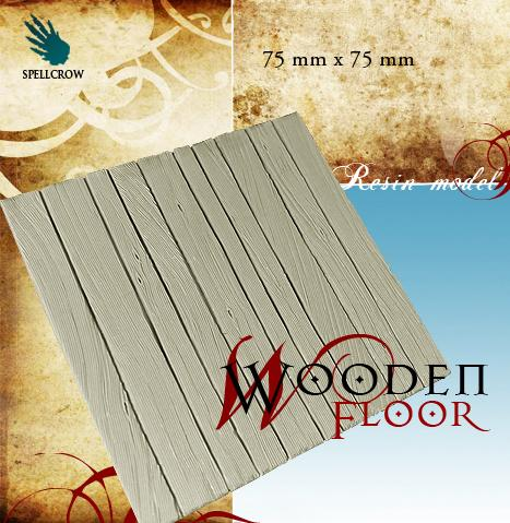 28mm Fantasy Terrain: Wooden Floor