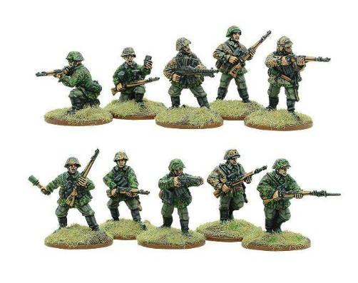 Bolt Action, 2nd Edition: (German) Early War Waffen-SS Squad