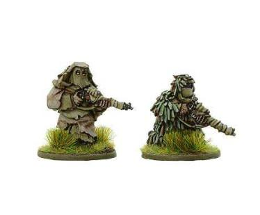 Bolt Action, 2nd Edition: British Snipers in Ghillie Suits