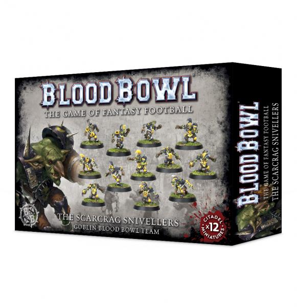 Blood Bowl: BLOOD BOWL SCARCRAG SNIVELLERS (GOBLIN TEAM)