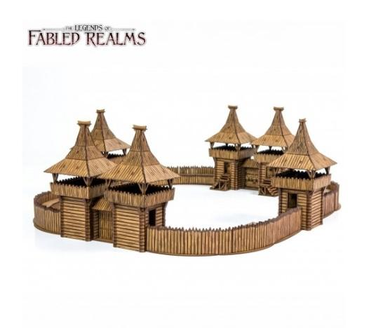 28mm Fabled Realms: Fyrburgh Fort