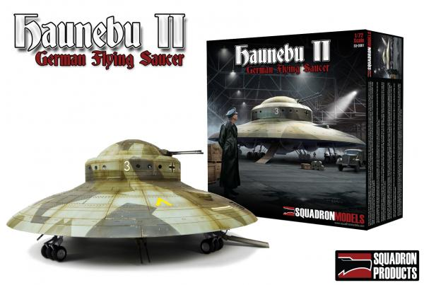 Haunebu II - German Flying Saucer (1/72 scale)